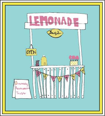 DPT Lemonade Days Festival logo