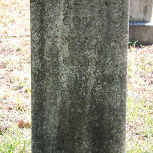 J.W. Fitts Headstone