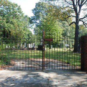 New Home Cemetery Main Gates
