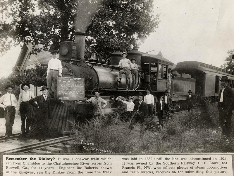 dunwoody railroad